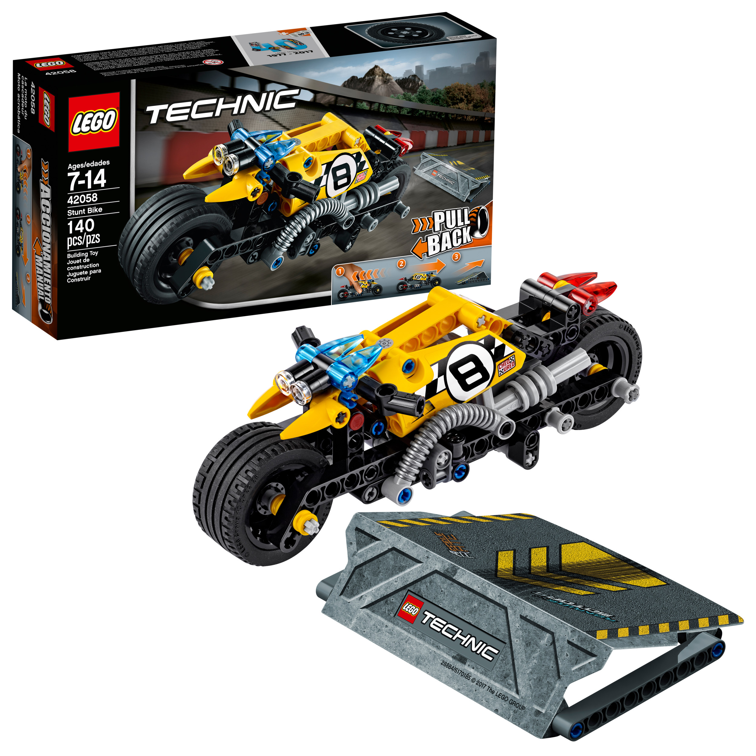 LEGO¨ Technic Stunt Bike 42058