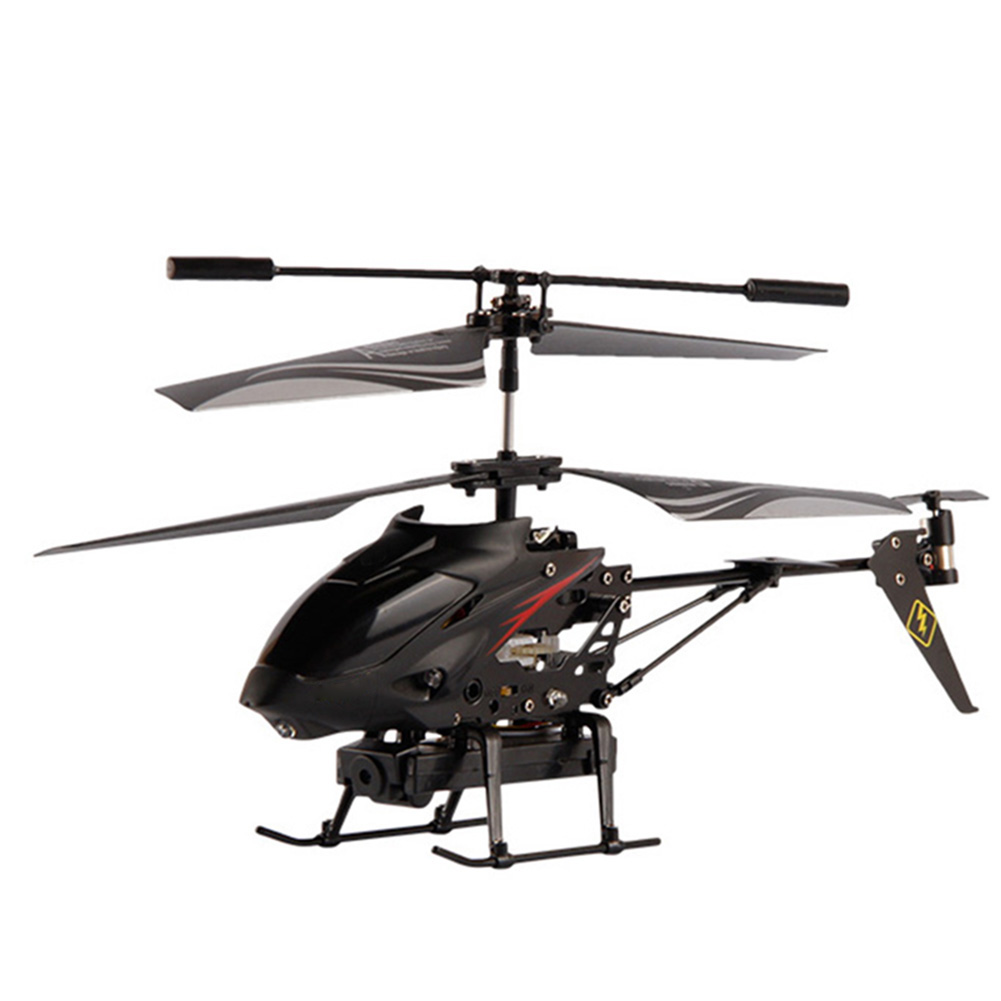 1PCS Remote Control Helicopter Metal RC Gyro Quadcopter with Video Camera Outdoor Play... by