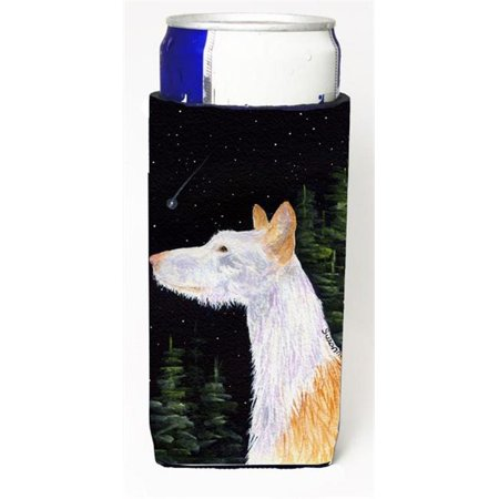 Carolines Treasures SS8499MUK Starry Night Ibizan Hound Michelob Ultra bottle sleeves For Slim Cans - 12 oz. - image 2 de 2