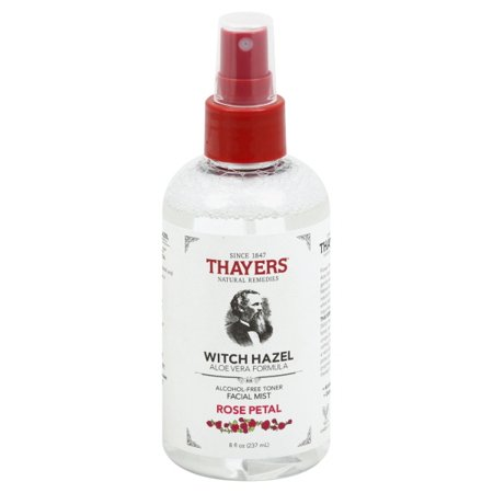 Alcohol-Free Rose Petal Witch Hazel Toner  Facial Mist Thayers 8 oz (Allies Of Skin Molecular Saviour Toner Mist)