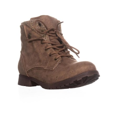 Cardy Fashion Boot - Womens Rock & Candy Tavin Fashion Hiking Boots, Taupe/Tan/Beige, 7.5 US
