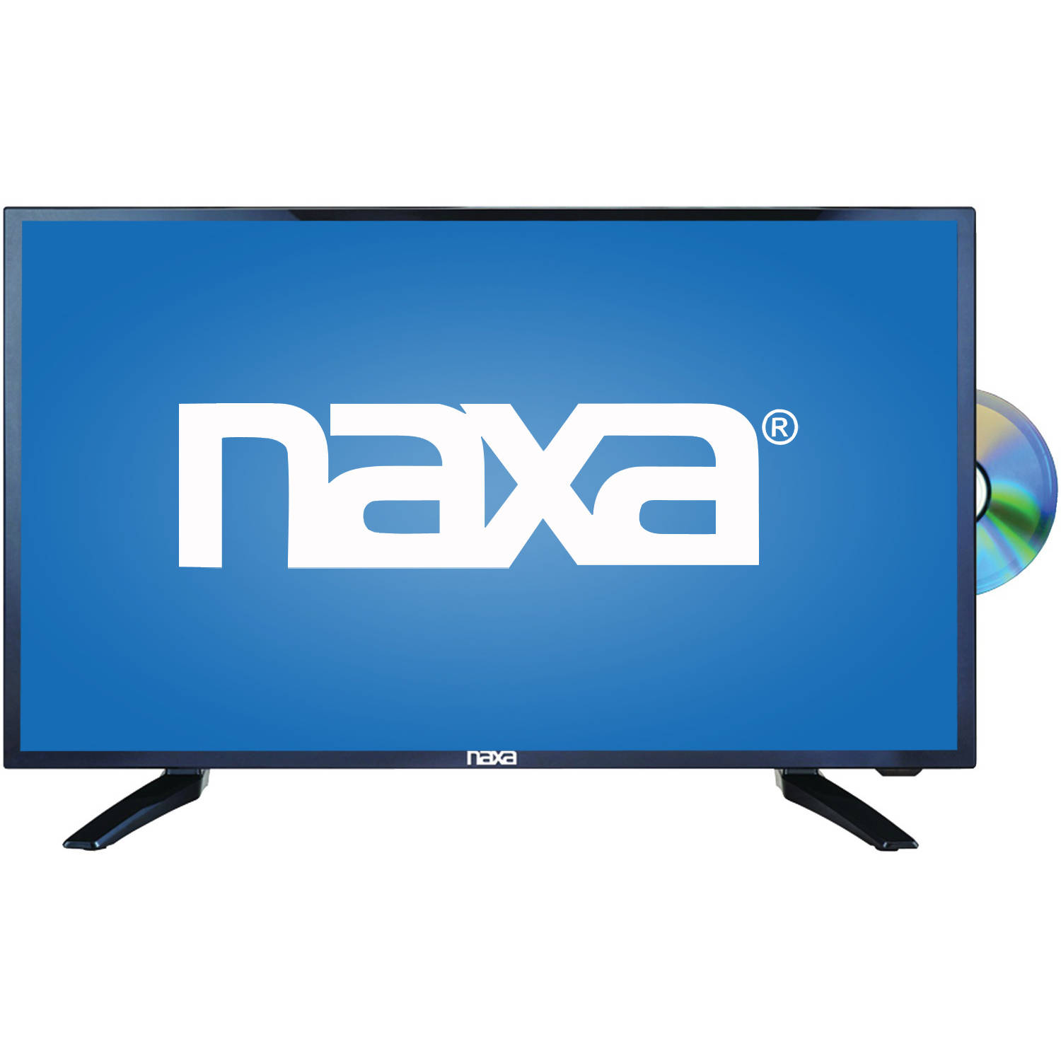 "Naxa NTD-2456 24"" 1080p LED HDTV/DVD/Media Player Combination and Car Package"