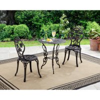 Deals on Better Homes and Gardens Rose 3-Piece Outdoor Bistro Set