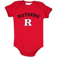 Rutgers Scarlet Knights Infant Arch & Logo Bodysuit - Scarlet