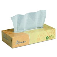 Georgia Pacific Professional 48100 Facial Tissue, Flat Box, Box of 100 Sheets (Case of 30 Boxes)
