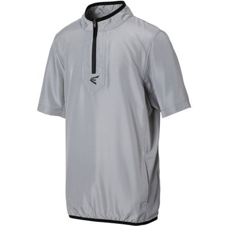bbcd7eac Easton - Easton Youth Short Sleeve M5 Cage Jacket Grey/Silver L - -  Walmart.com