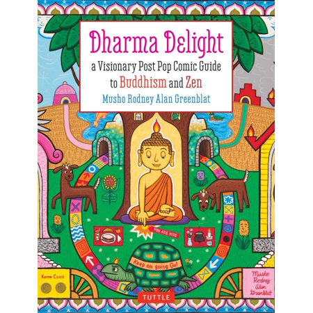 Dharma Delight : A Visionary Post Pop Comic Guide to Buddhism and Zen - Pop Art Comic Book Halloween Makeup