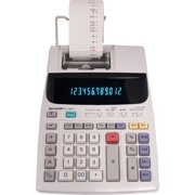 Sharp EL-1801V Two-Color Printing Calculator, Black and Red Print, 2.1 Lines per Second
