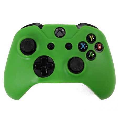 HDE Xbox One Controller Grip Skin Protective Silicone Rubber Cover for Wireless Xbox 1 Gamepad (Green) ()