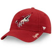 Arizona Coyotes Fanatics Branded Women's Core Fundamental Adjustable Hat - Garnet - OSFA