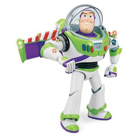 Disney Ultimate Buzz Lightyear Talking Action Figure -- 12' (Buzz Lightyear Inflatable Jetpack)