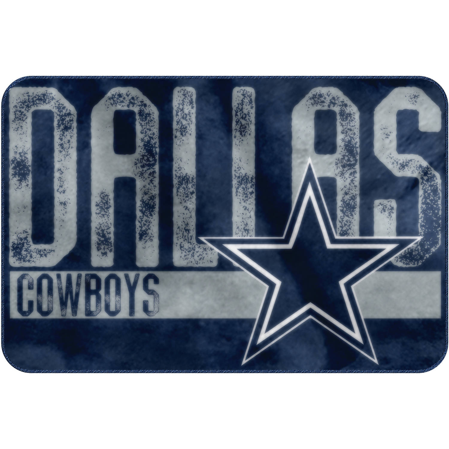 "NFL Dallas Cowboys ""Worn Out"" Mat, 20"" x 30"""