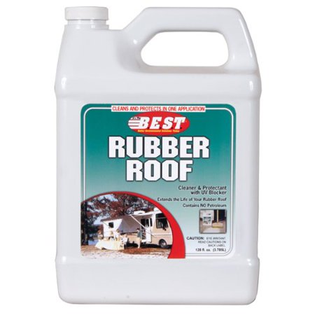 BEST PROPACK 55128 BEST 128 OZ. RUBBER ROOF CLNR & PROTECTANT