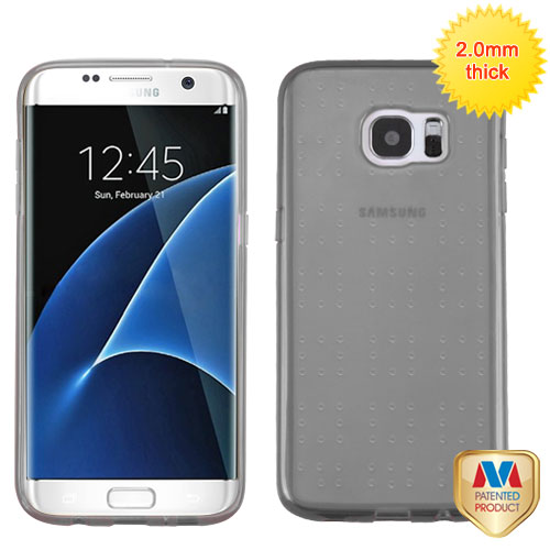 For Samsung Galaxy S7 Edge Glassy Protective Armor SPOTS Candy Skin Cover Case