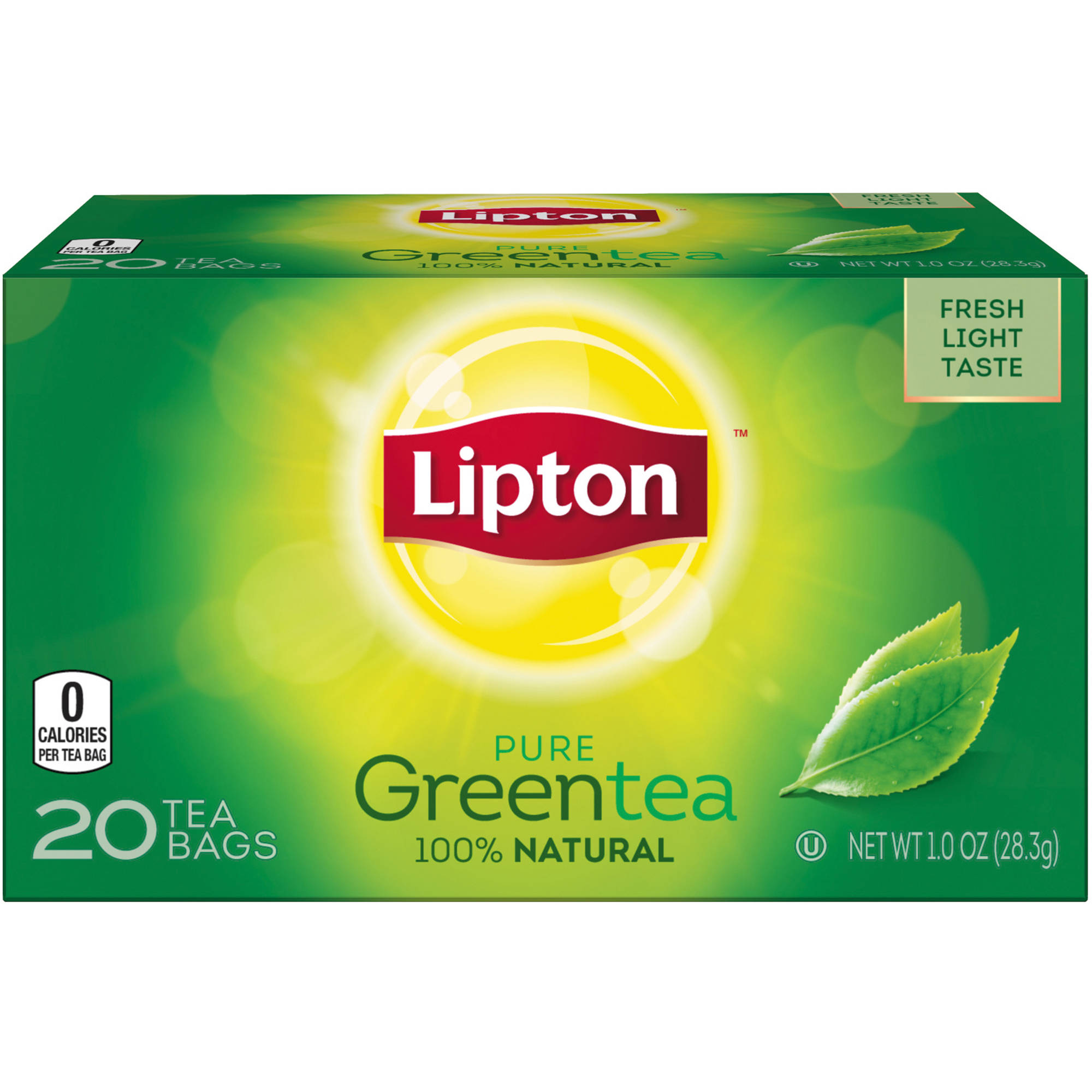 Lipton Pure Green Tea Bags, 20 ct