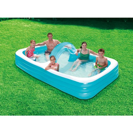 Summer waves 120 3 ring swim through family lounge pool - Summer waves pool ...
