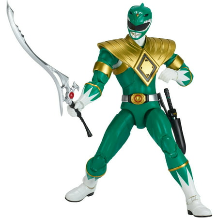 Power Rangers Legacy Mighty Morphin Green - Power Rangers Rpm Ranger Green