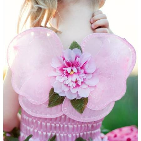 GREAT PRETENDERS Girls Pink Blossom Butterfly Fairy Glitter Mini Costume