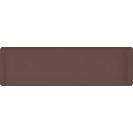 Novelty Mfg Co P-Countryside Flower Box Tray- Brown 30x7x1 Inch