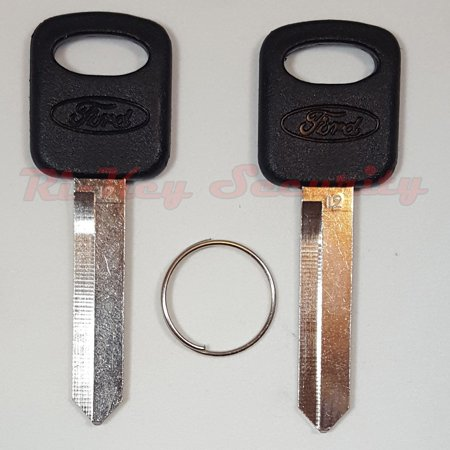 2 New Original Ford Keys Blank With OEM Ford Logo For Ford Mercury Mazda Lincoln