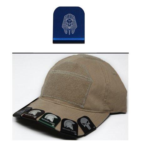 Ultimate Arms Gear EGYPTIAN PHARAOH MUMMY SKULL Hat Cap Crown Brim-It, - Pharoah Hat