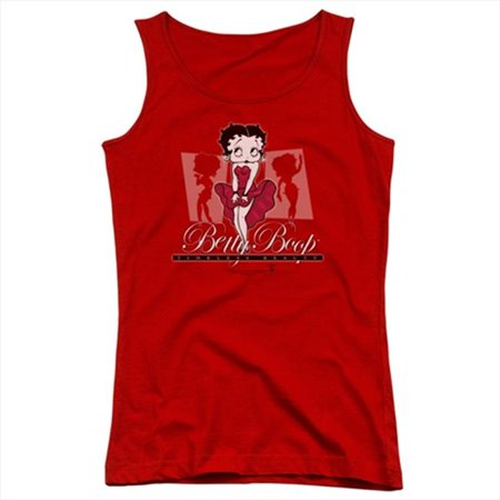 Boop-Timeless Beauty - Juniors Tank Top, Red - Medium - image 1 of 1