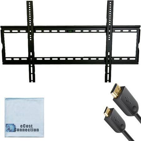 Universal Ultra Slim Flat Screen TV Wall Mount for 32