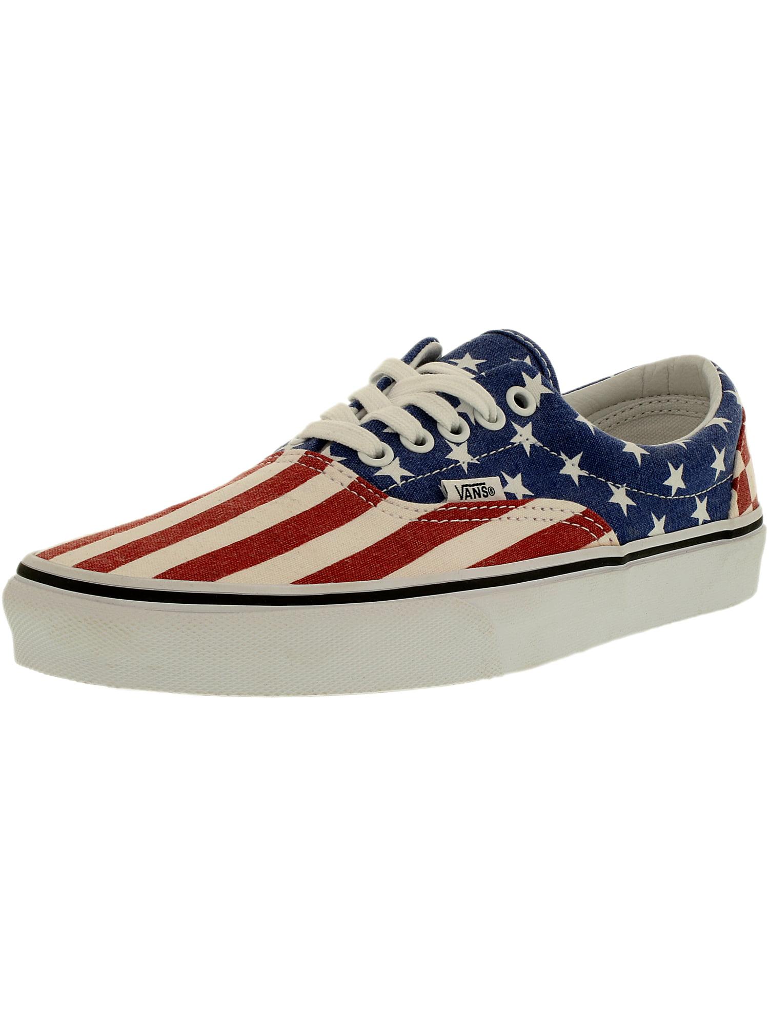 Vans Men's Era Stars/ Stripes Ankle-High Canvas Fashion Sneaker - 9M