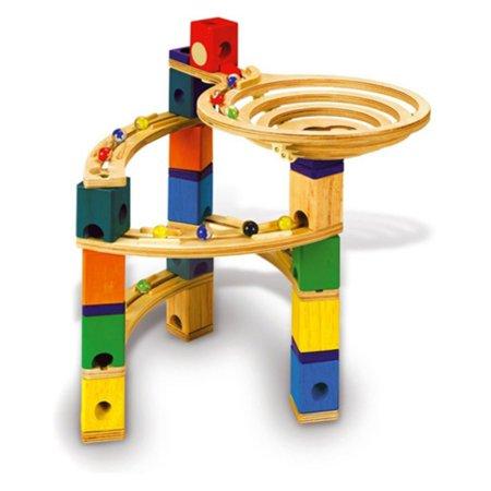 Quadrilla Twist Marble (Hape - Quadrilla - Round About - Marble Railway in Wood Multi-Colored )