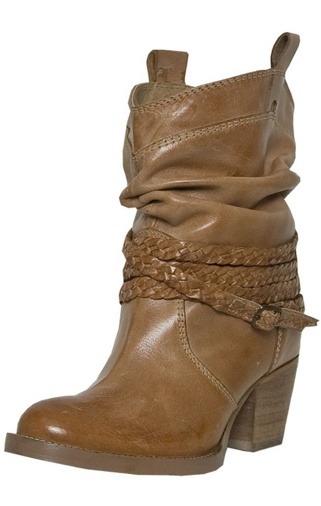 Dingo Fashion Boots Womens Twisted Sister Slouch Buffalo Tan DI 682 by Dingo