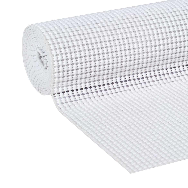 Duck Brand Select Grip Easy Liner Brand Shelf Liner - White, 20 in. x 6 ft.