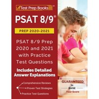 PSAT 8/9 Prep 2020-2021 : PSAT 8/9 Prep 2020 and 2021 with Practice Test Questions [2nd Edition] (Paperback)