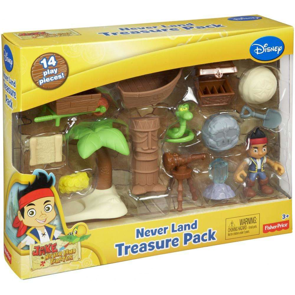 Jake and the Never Land Pirates Never Land Treasure Pack - Walmart.com