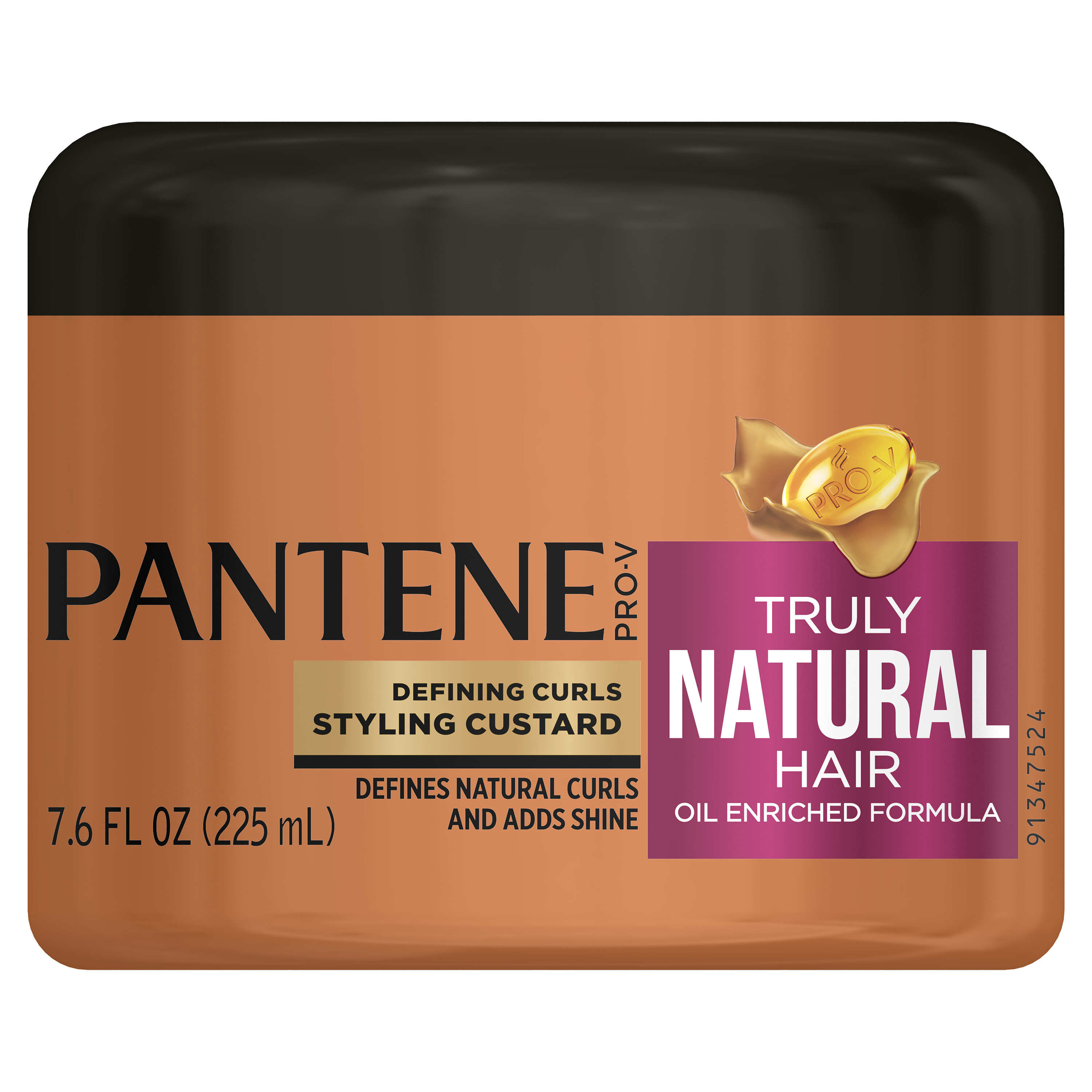 Pantene Pro-V Truly Natural Hair Defining Curls Styling Custard, 7.6 Fl Oz
