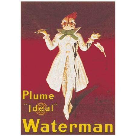 Cappiello Waterman Vintage Advertising Art Print