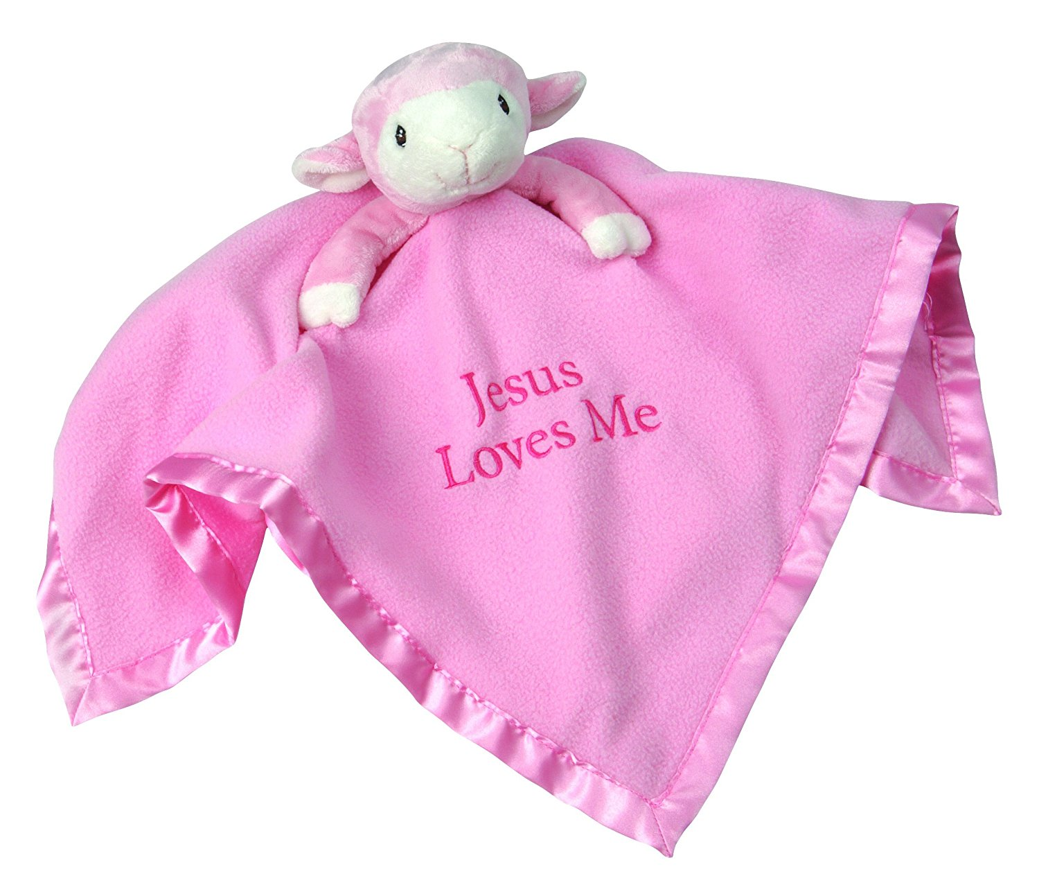 , Pink Lamb, Stuffed Animal and Blanket, 102502 By Precious Moments Ship from US by Precious Moments