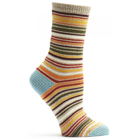 - Ozone Socks - Scandinavian Stripes Sock - Orange