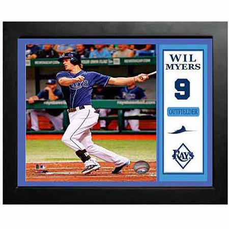 MLB 11x14 Deluxe Picture Frame, Wil Myers Tampa Bay Rays by