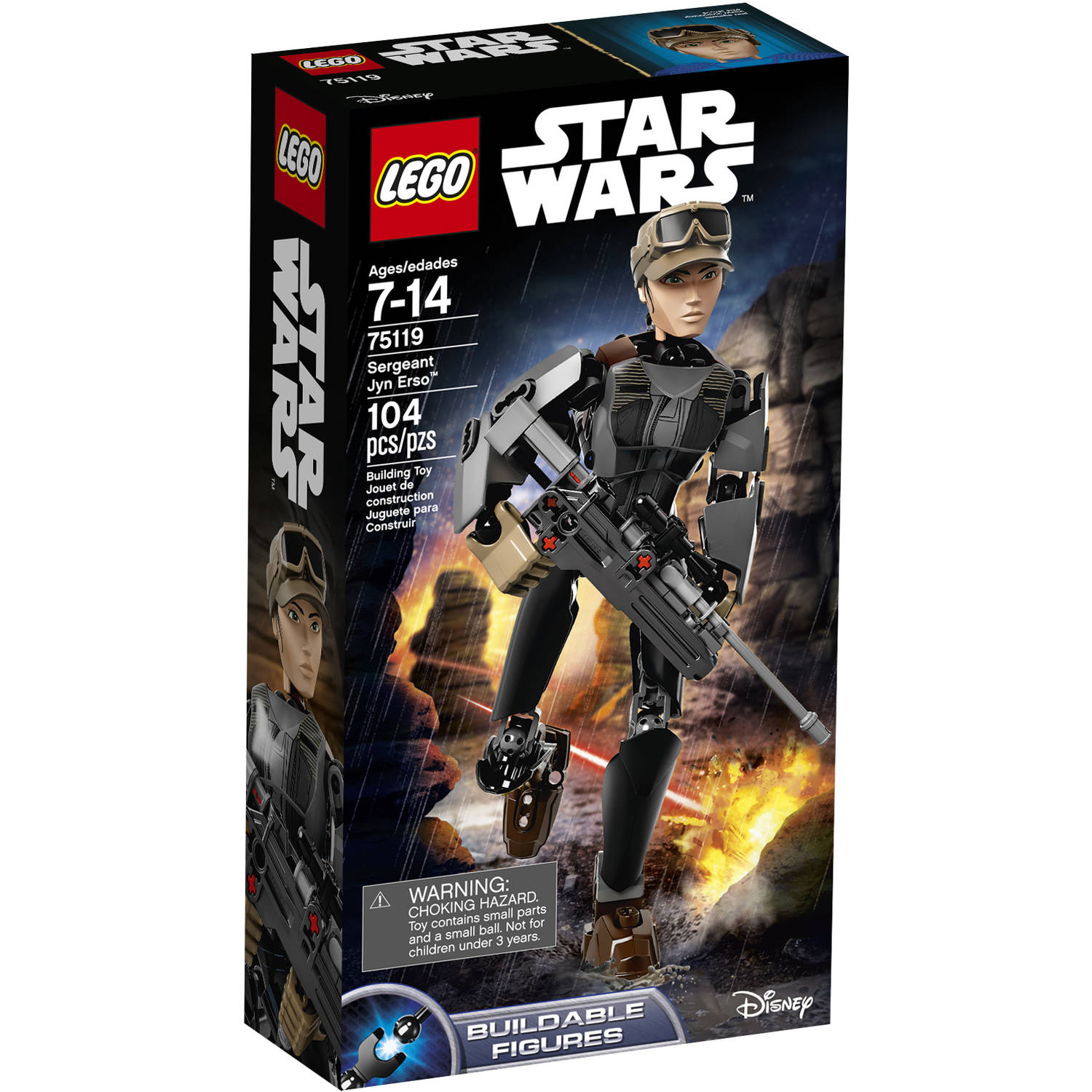 LEGO Constraction Star Wars Sergeant Jyn Erso 75119
