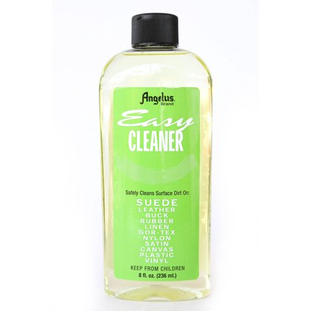 Angelus Easy Cleaner for Leather, Suede, Rubber, Linen, Canvas, Vinyl 8 oz (Suede Leather Cleaner)