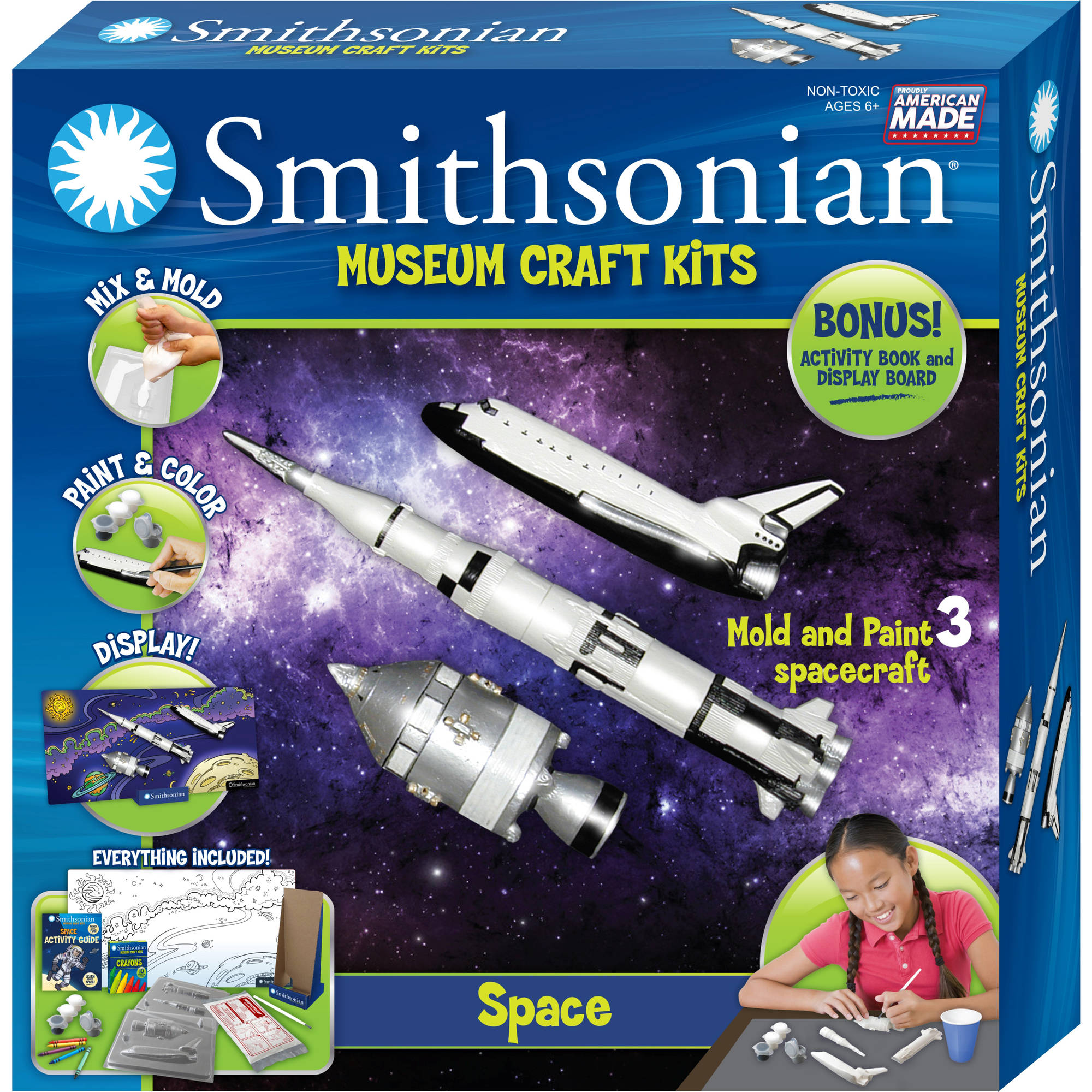Smithsonian Museum Craft Kits, Space