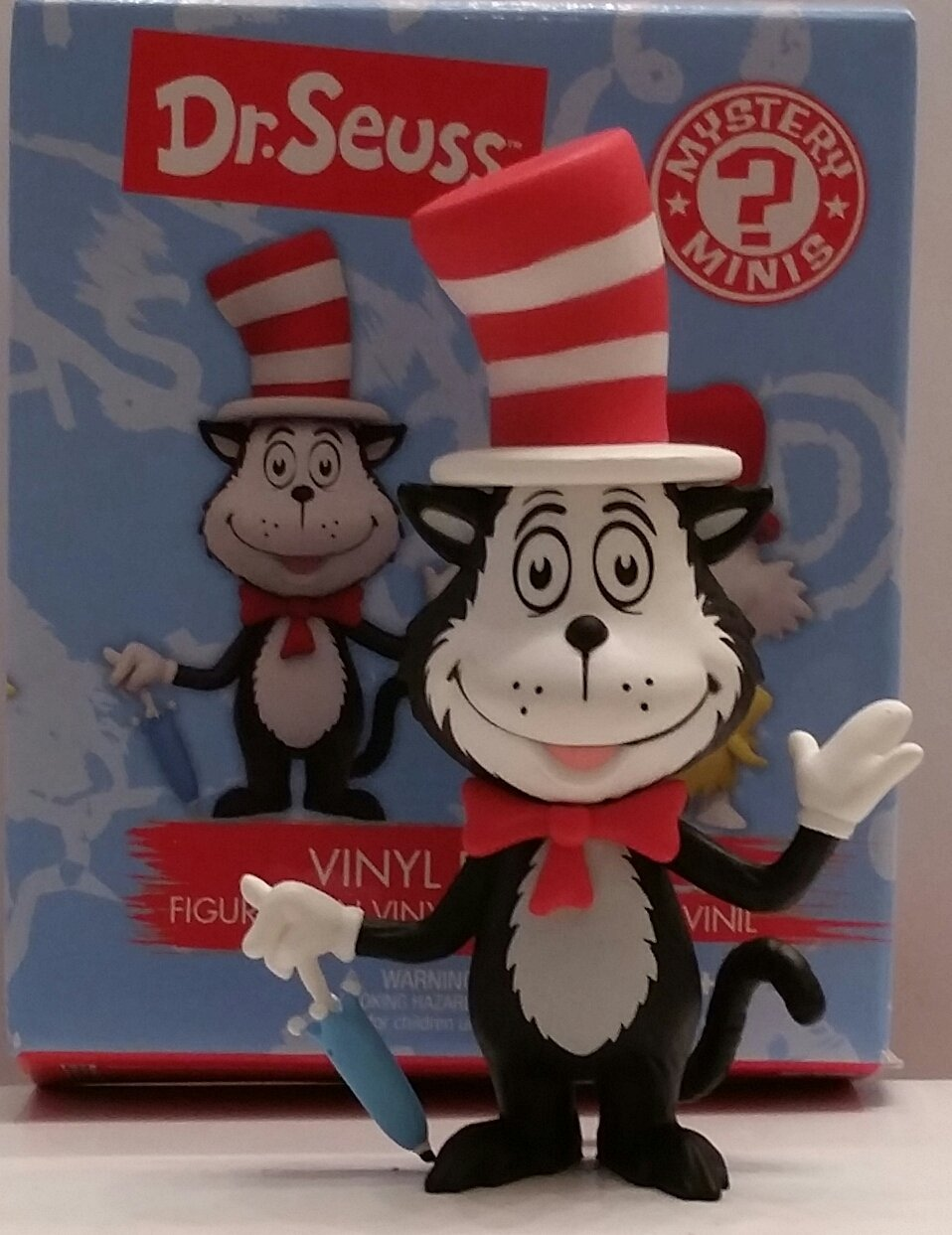 Seuss Mystery Minis Series 1 THING 1 ONE 1//12 FUNKO Dr