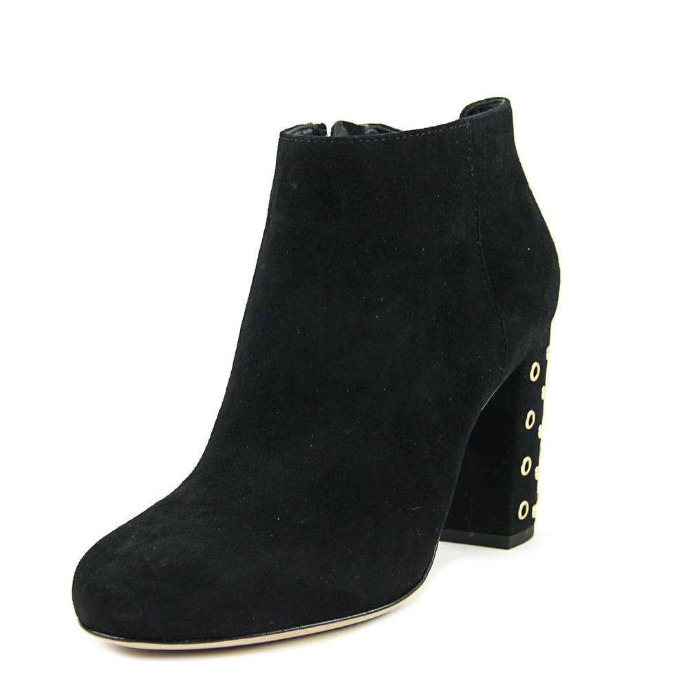 Kate Spade Cirra Women Round Toe Suede Black Ankle Boot by kate spade