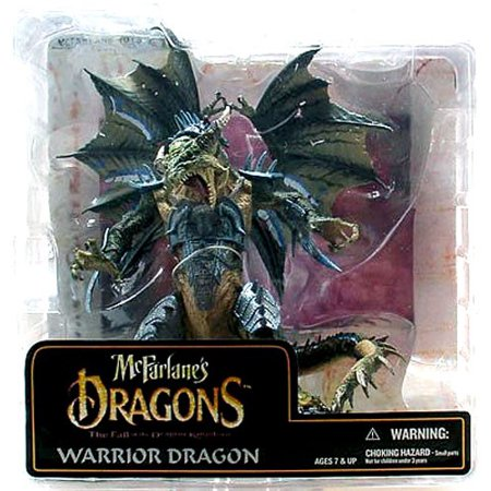 (McFarlane Dragons Series 6 Warrior Dragon Clan Action Figure)