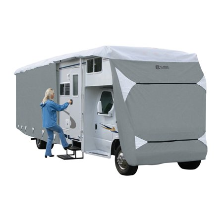 (Classic Accessories OverDrive PolyPRO 3 Deluxe Class C RV Storage Cover, Fits 23' - 26' RVs)