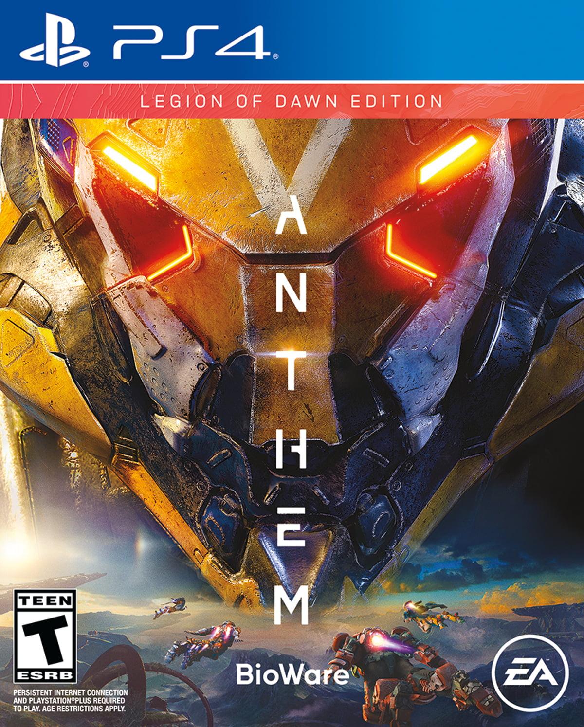 Anthem Legion of Dawn, Electronic Arts, PlayStation 4, 014633739183