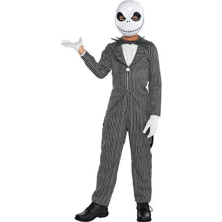 Sally Skellington Makeup (The Nightmare Before Christmas Jack Skellington Costume, Boys, Medium, with)