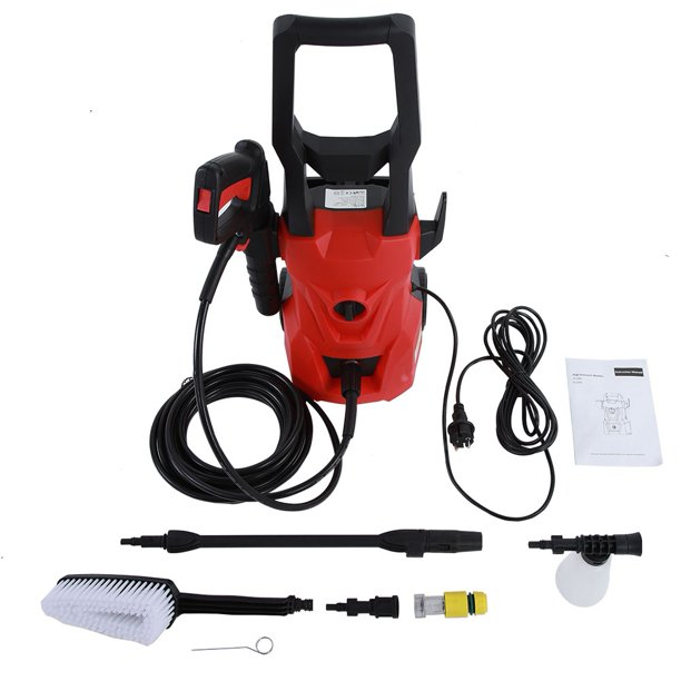 Otviap 3400psi Compact Electric High Pressure Washer Portable Electric Power Washer Us Plug Electric Pressure Washer High Pressure Cleaner Walmart Com Walmart Com