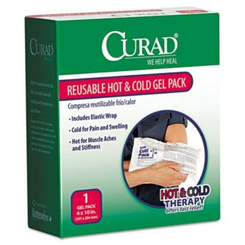 "Curad Hot/cold Reusable Gel Pack - 4"" (cur959)"