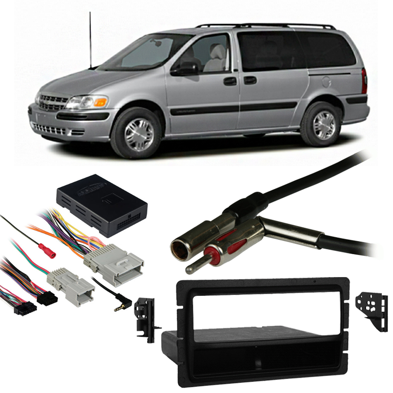 Fits Chevy Venture Van 00-05 Single DIN Stereo Harness Radio Install Dash  Kit - Walmart.com - Walmart.comWalmart